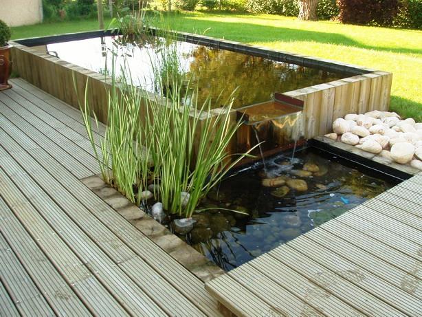 Un bassin pour son jardin tout sur le jardin et l 39 am nagement ext rieur for Bassin de jardin facile