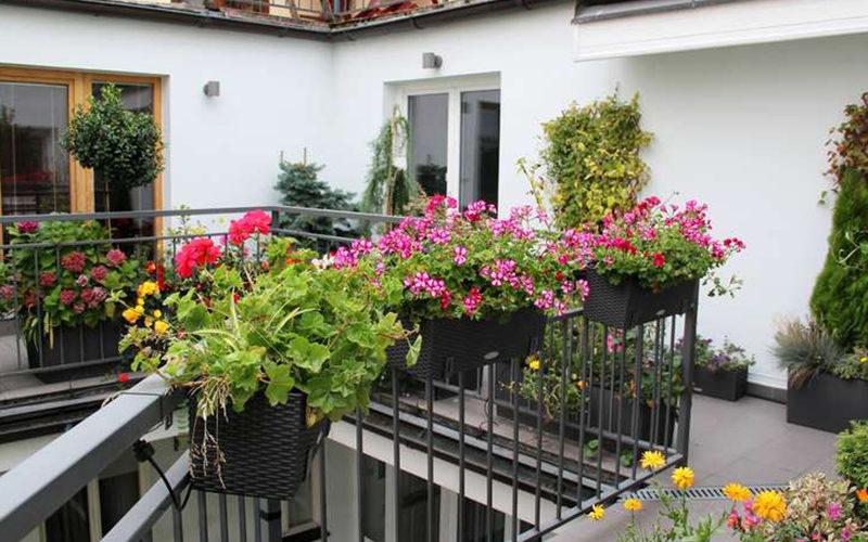 Aménager le balcon pour accueillir le printemps